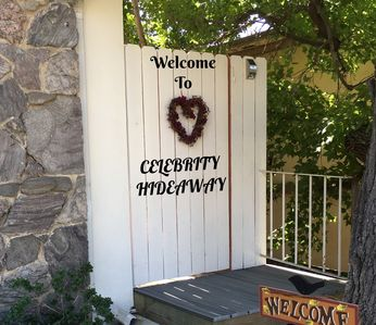 "Photo for ""Celebrity Hideway""  Beautiful Secluded Apt. Sleeps 4"