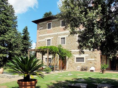 Photo for Vacation home Podere Policleto (SPC110) in San Polo in Chianti - 18 persons, 8 bedrooms