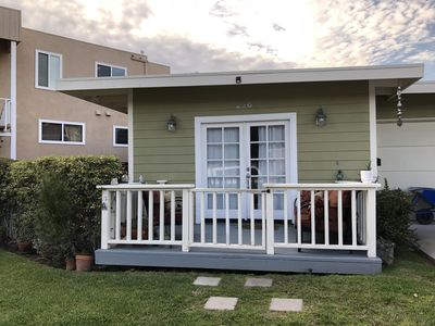 Photo for Sweet Beach Cottage, Steps from the sand!