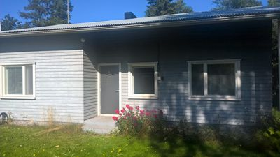 Photo for Two bedroom house with outside whirlpool bath and big sauna.