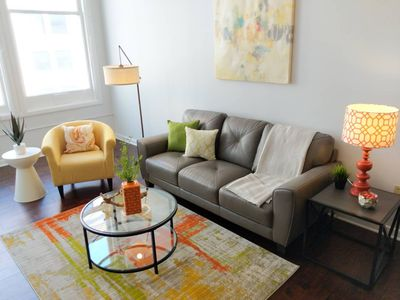 Photo for BRIGHT & SPACIOUS 2BR IN DOWNTOWN BLOCK APTS