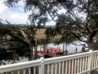 Photo for The Treehouse - Private Beach Access & Dock on Tidal Creek w/ Beautiful Views