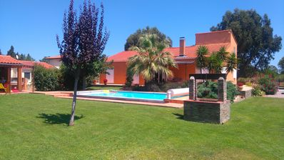 Photo for BEAUTIFUL MAS RENOVATED 4 BEDROOMS 160m2 WITH SWIMMING POOL AND GARDEN TREES 2500m