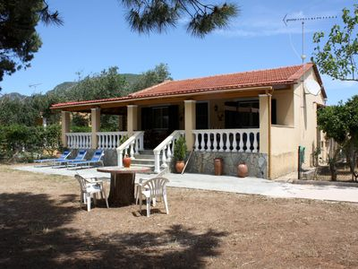 Photo for Relax in rural idyll! Detached holiday house | Halikounas, Corfu