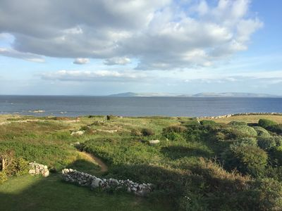Photo for Stunning 4 bedroom Oceanfront House. Uninterrupted views and direct access to the Ocean. Galway Bay, the Aran Islands , the Clare Hills and the Atlantic Ocean viewed from your living room.