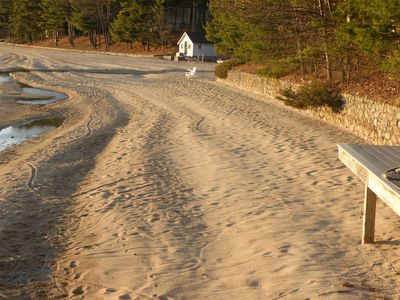 Photo for A Year Round Luxury Home With A Large Private Beach on Sebago