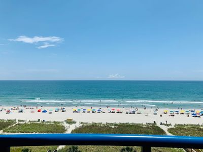 Photo for Direct Oceanfront/Private Balcony/Central Location