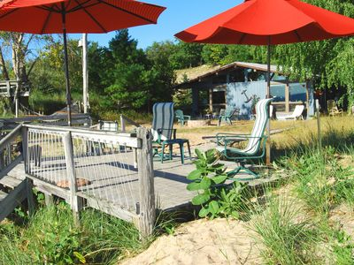 Photo for Lake Michigan Beachfront Cottage