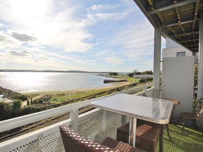 Photo for Island View - Stunning Waterside Apartment