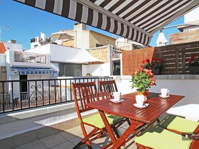 Photo for Friendly Rentals The Parellades Atic Apartment in Sitges