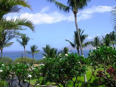 Serene ocean view from your lanai, frolicking whales, beautiful sunsets daily