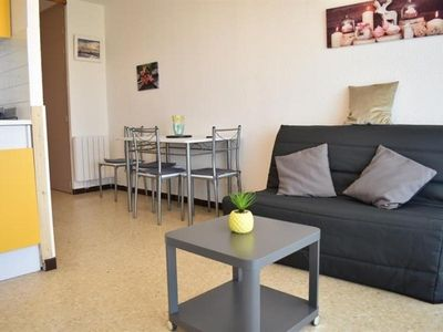 Photo for Apartment Balaruc-les-Bains, studio flat, 3 persons
