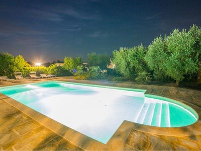 Photo for Fantastic Trullo & Lamia,Private Pool, WiFi. Sleeps 10. Walk to town.