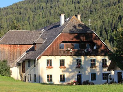 Photo for Cozy apartment on 1420m altitude in the middle of nature at the organic farm