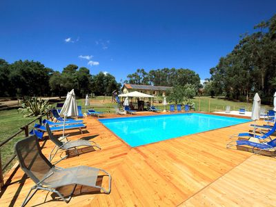 Photo for Spacious three-room apartment in the Tuscan countryside of the Etruscan Coast Near the Sea