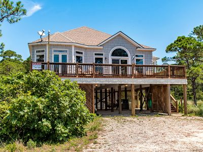 Photo for Beautiful Home on the Gulf | Gourmet Kitchen | Elevator | Pet-Friendly!