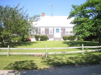 Photo for Cozy Cape House in Quivet Neck: Easy Walk to Sea Street Beach