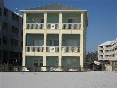 Three story Home with beautiful Gulf Views! Imagine the sunset from the balconys