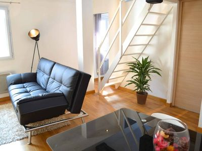 Photo for T2 with mezzanine in Biarritz