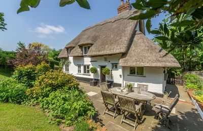 Photo for Thatcher's Cottage is a 4 guest, thatched character cottage in Stoke-by-Nayland in the Dedham Vale.