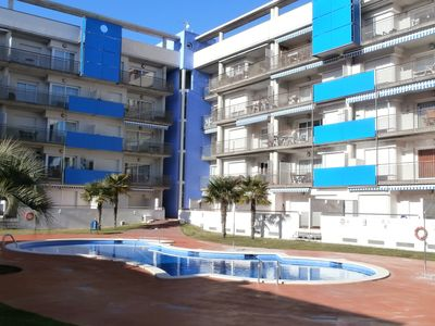Photo for Apt T3, 61 m², air conditioned, 1st floor, pool, 4-6 pers. Santa Margarida