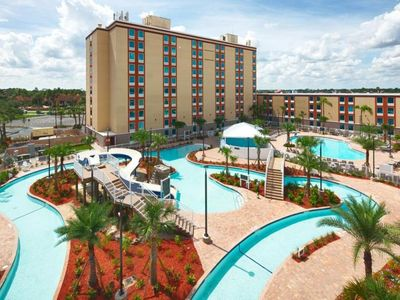Photo for GROUP GETAWAY! TWO CONFY UNITS, POOL, PARKING