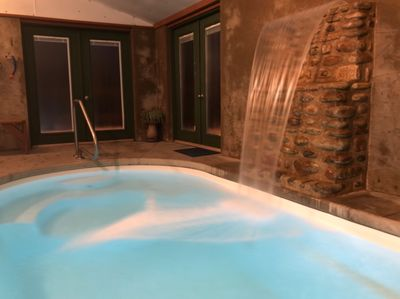 PrivateHeated Pool for just you! Open 24 hours and only plays your music