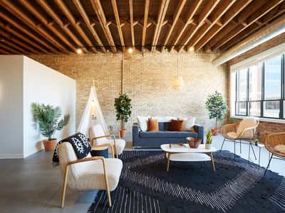 Photo for Designer 3BR Luxury Penthouse in Heart of Fulton Market