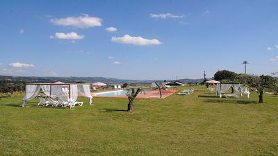 Photo for BORGO SAN DONNINO with POOL and LAKE