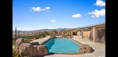 Photo for AMAZING  VIEW & BACKYARD WITH HUGE POOL, BEAUTIFUL HOUSE SEATING ON OVER 1500SF