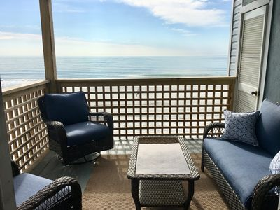 Photo for Beautiful Ocean Front Corner Unit Condo Garden City Beach, SC