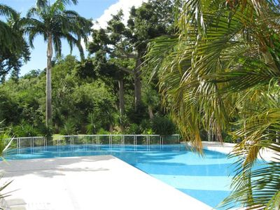 Photo for Rental F3 ground floor with swimming pool near the beach