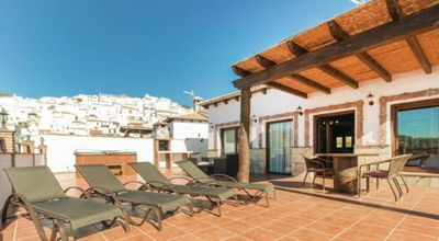 Photo for Magnificent villa with terrace, jacuzzi and stunning views