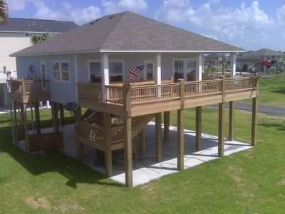Photo for Shore Haven - 2 Bedrooms, 2 Bath, Sleeps 10 - Beach Front!