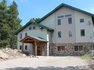 Photo for This 10 Bedroom, 8 Bathroom Lodge Sleeps 40 Is Minutes From Yellowstone Park