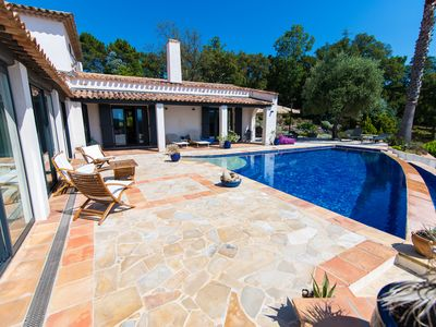 Photo for Near Cannes in the heart of the Esterel -Intimité Total -Pool with overflow -2 Ha