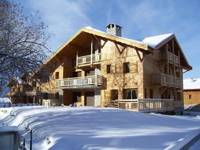 Photo for SNOWY CHALET  Luxury and Spa 78m2 for 8 people, with terrace,