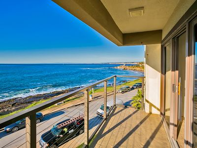 Photo for Oceanfront, White Water Views, Walk to Beach, Shops & Restaurants