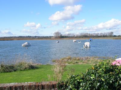 Photo for 4 Bedroom Water Frontage House with Direct Access to Water  From End Of Garden