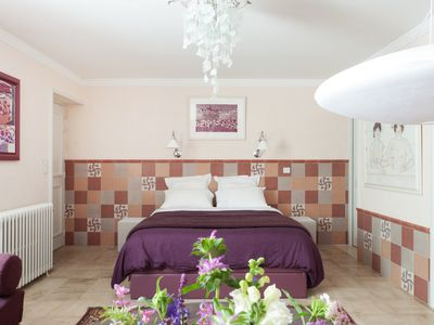 Photo for Bed and breakfast: SUITE OCRE MAUVE with PRIVATE HAMMAM, Breakfast included