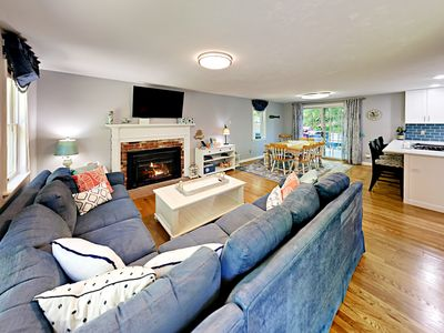 Living Room - Welcome to Cotuit! This house is professionally managed by TurnKey Vacation Rentals.