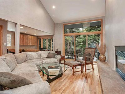 Photo for Unwind & Relax, On Gore Creek, Private Hot Tub, Easy Bus Stop Access, No Car Needed!