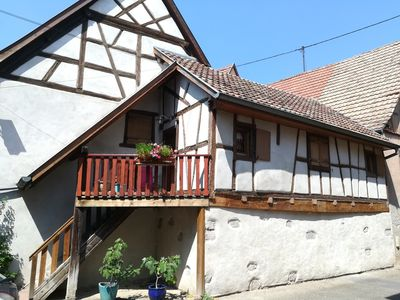 Photo for Typical Maisonette charm of 1719 near Colmar in the heart of the vineyard