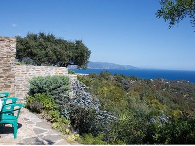 Photo for Beautiful Villa with superb sea view in the area of Gaou Bénat
