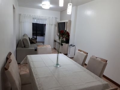 Photo for Excellent apartment at 60 meters from the sea at Bombas beach in Bombinhas SC.