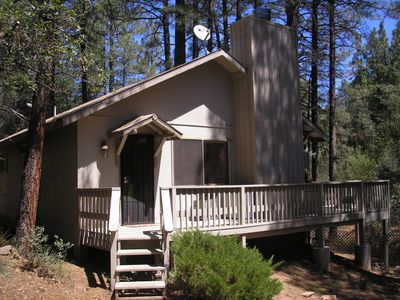 Photo for No Worries....The Cool Pine/Strawberry Getaway