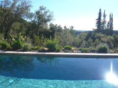 Photo for Beautiful villa, great view Mediterranean sea and mountains