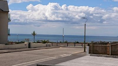 Photo for BOURNECOAST - MODERN GROUND FLOOR APARTMENT WITH SEA VIEWS - FM6193