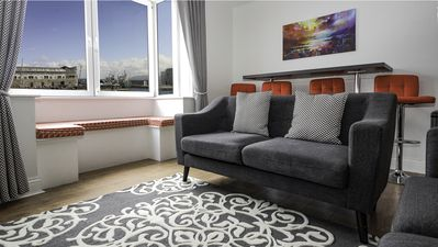 Photo for Executive water view suite in the heart of Galway City. Sleeps 6