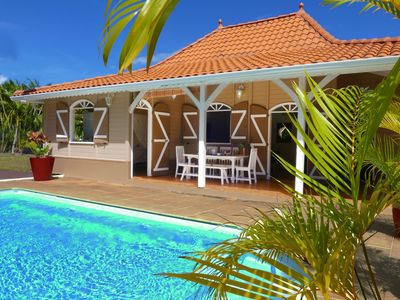 "Photo for Villa ""Caracoli"" private pool 3mn from Ste Anne beaches"